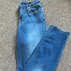 7 For All Mankind b (air) Jimmie crop jeans